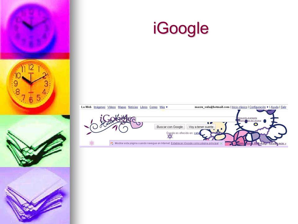 iGoogle iGoogle