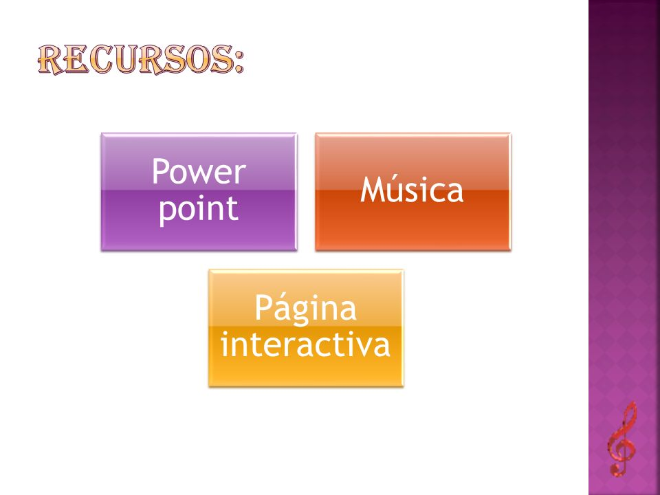 Power point Música Página interactiva