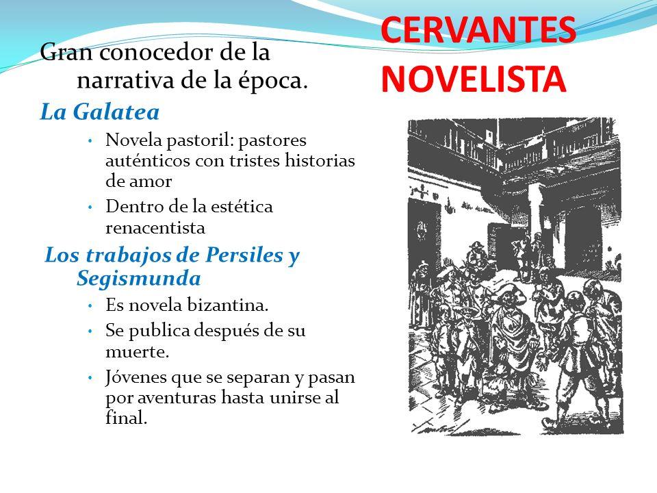 CERVANTES NOVELISTA Novelas Ejemplares Nueva palabra, del italiano novella Relatos cortos que desean dar ejemplo.