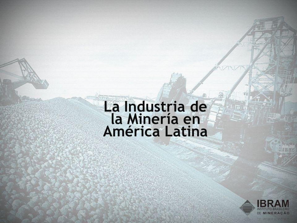 Inversiones en el Sector Minero 2009 a 2013 Evolución de las proyecciones de inversiones del Sector Mineral en US$ mil millones Crisis US$ 57 M.M.M.