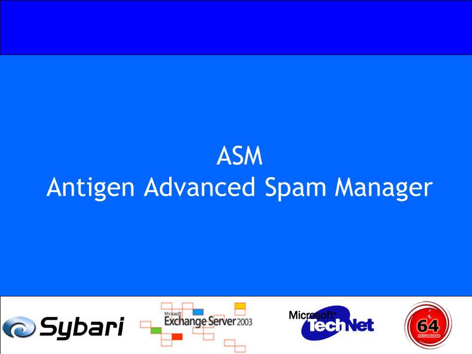 ASM Antigen Advanced Spam Manager