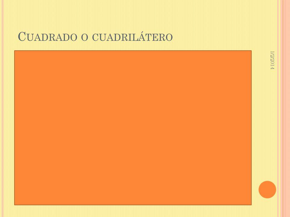 1/2/2014 C UADRADO O CUADRILÁTERO