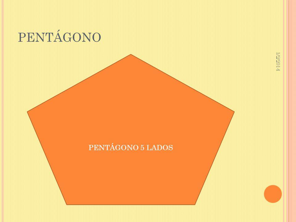 1/2/2014 PENTÁGONO PENTÁGONO 5 LADOS