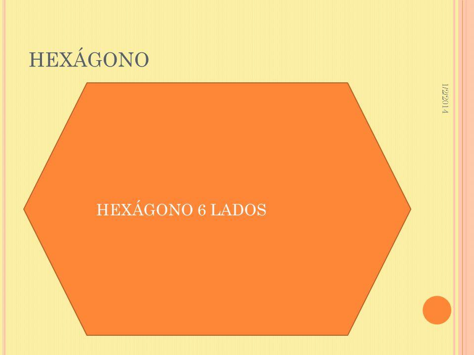 1/2/2014 HEXÁGONO HEXÁGONO 6 LADOS