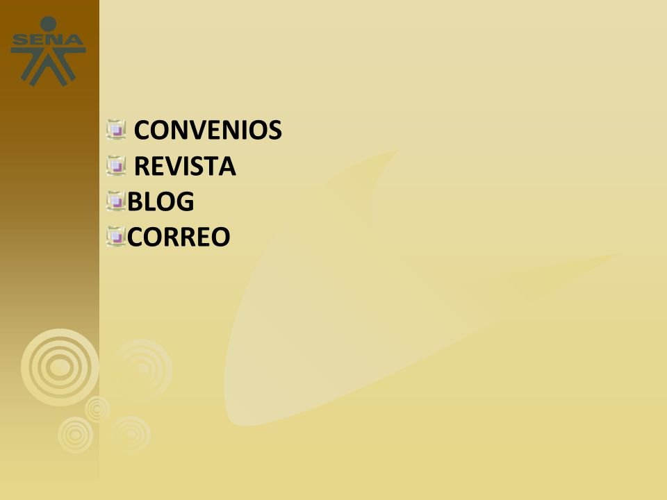 CONVENIOS REVISTA BLOG CORREO