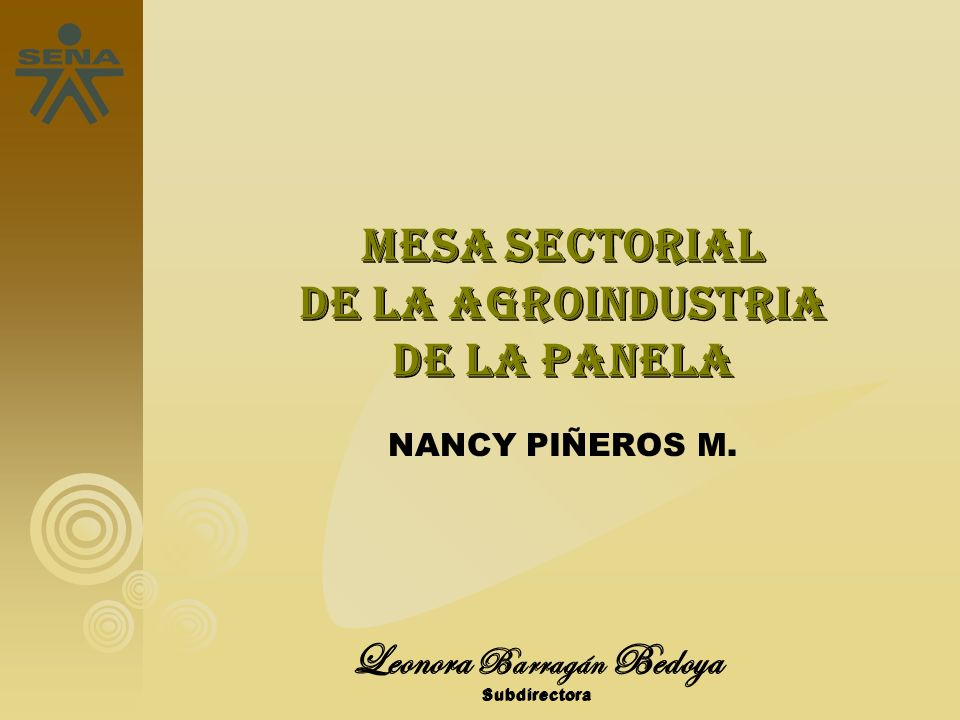 mesapanela@misena.edu.co http://mesasectorialdepanela.blogspot.com mesapanela@misena.edu.co http://mesasectorialdepanela.blogspot.com GRACIAS