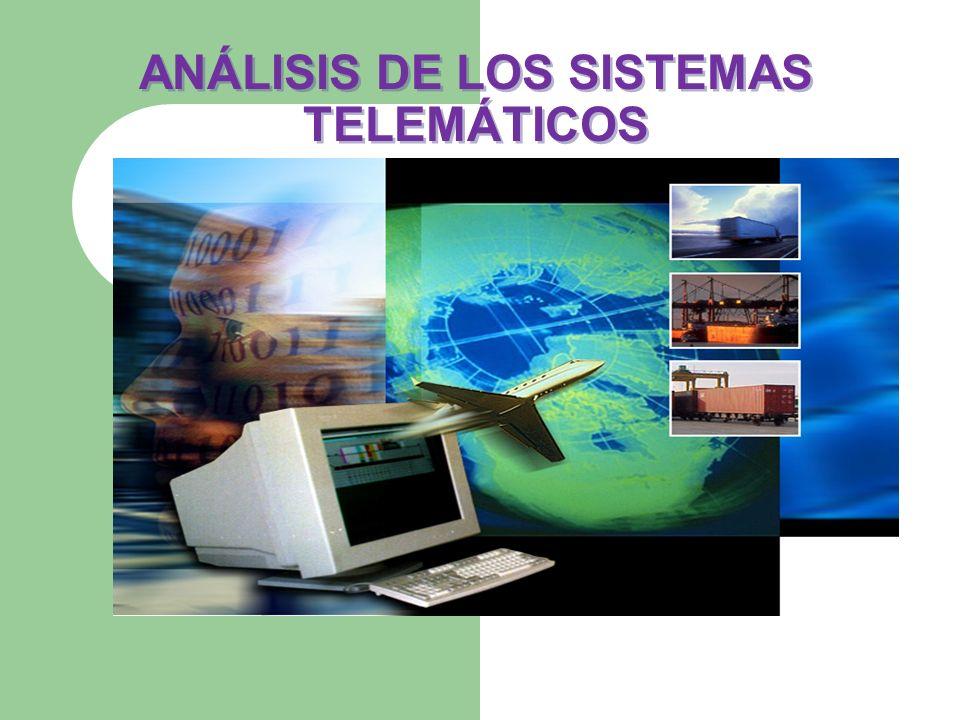 ANÁLISIS DE LOS SISTEMAS TELEMÁTICOS