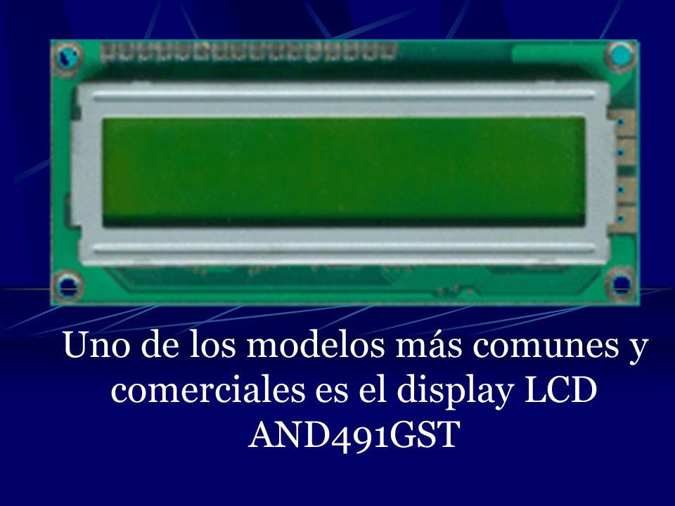 ESCRITURA DE DATOS EN LA CG-RAM O DD-RAM (WRITE DATA TO GG OR DD RAM) Mediante este comando se escribe en la memoria DD RAM los datos que se quieren presentar en pantalla y que serán los diferentes códigos ASCII de los caracteres a visualizar.