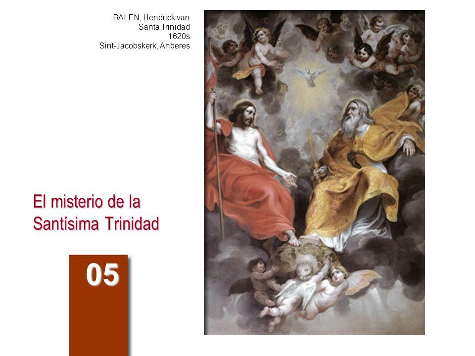 El misterio de la Santísima Trinidad 05 BALEN, Hendrick van Santa Trinidad 1620s Sint-Jacobskerk, Anberes