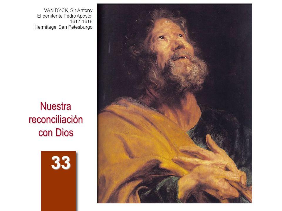 Nuestra reconciliación con Dios 33 VAN DYCK, Sir Antony El penitente Pedro Apóstol 1617-1618 Hermitage, San Petesburgo