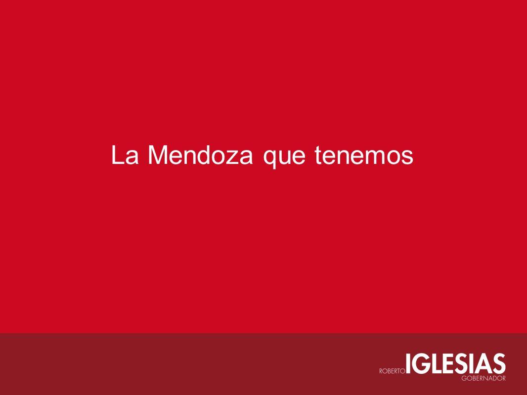 La Mendoza que tenemos