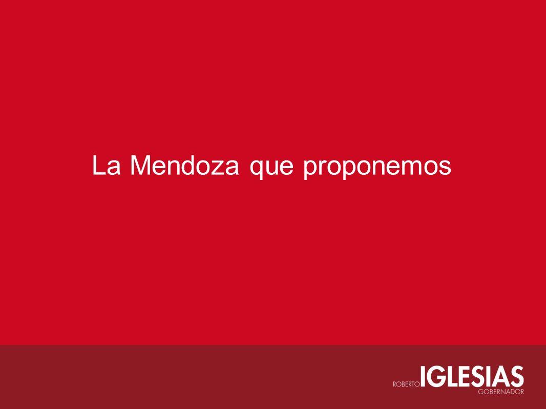 La Mendoza que proponemos
