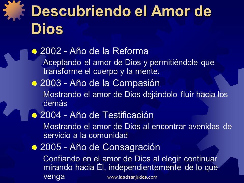 www.iasdsanjudas.com Descubriendo el Amor de Dios 2001 - 2005