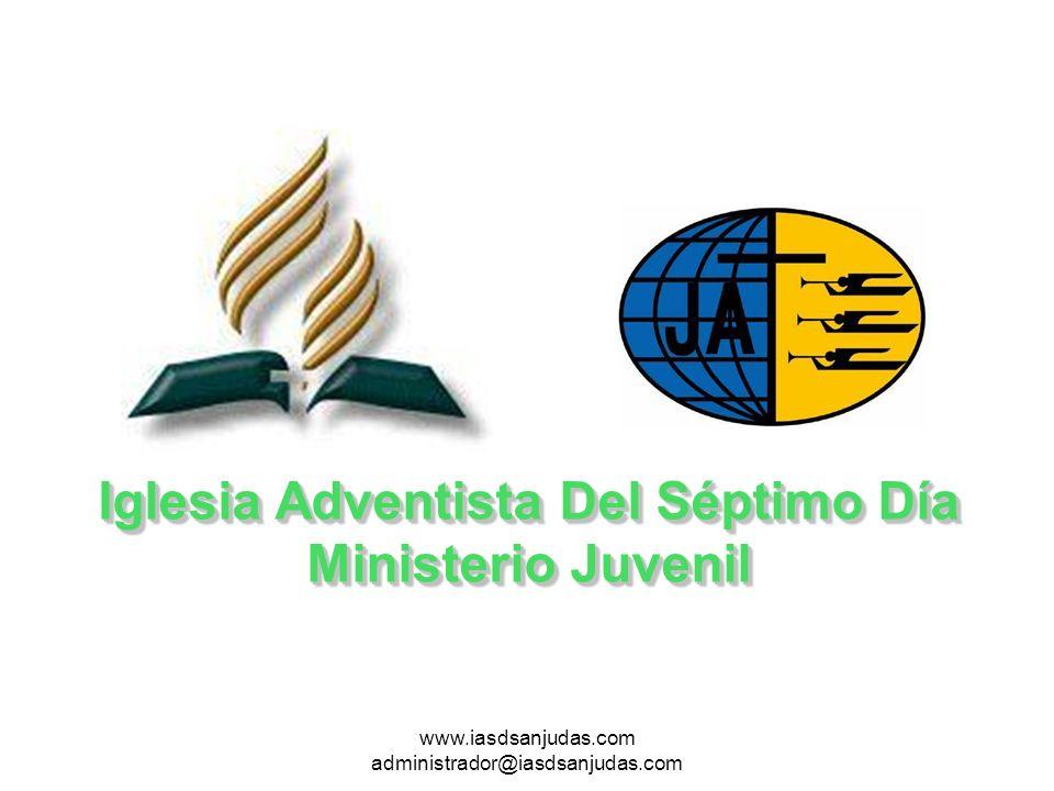www.iasdsanjudas.com administrador@iasdsanjudas.com Muchos cantantes Adventistas abandonaron la iglesia El talento musical muchas veces fomenta el orgullo y la ambición por la exhibición, y los cantantes dedican muy pocos pensamientos a la adoración a Dios.