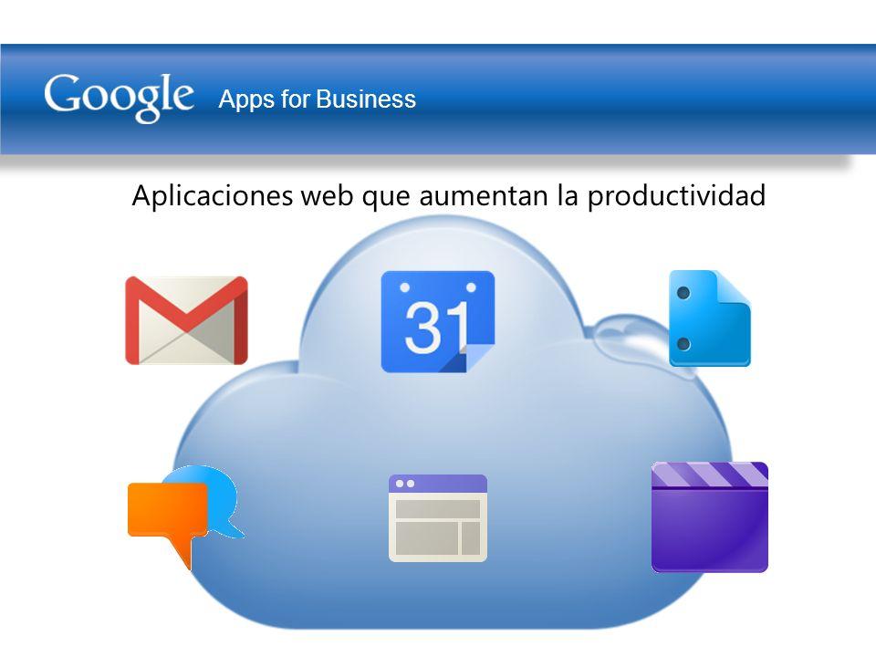Apps for Business Aplicaciones web que aumentan la productividad