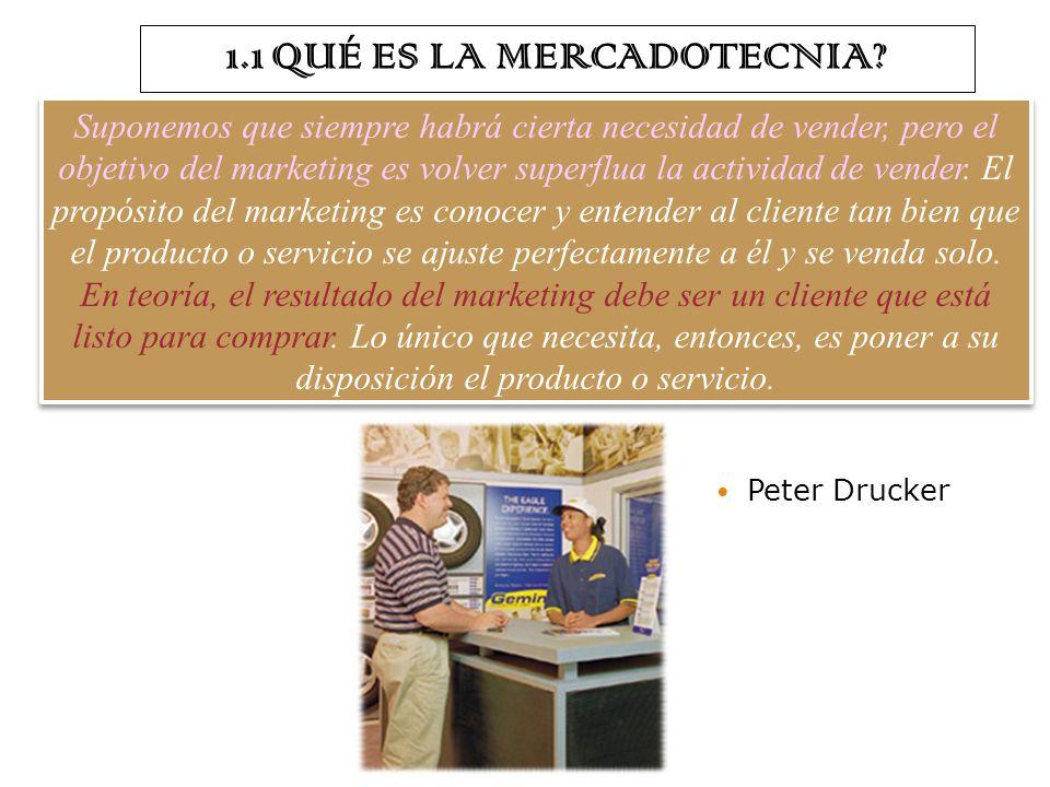 ASPECTOS GENERALES DE LA MERCADOTECNIA TEMA 1