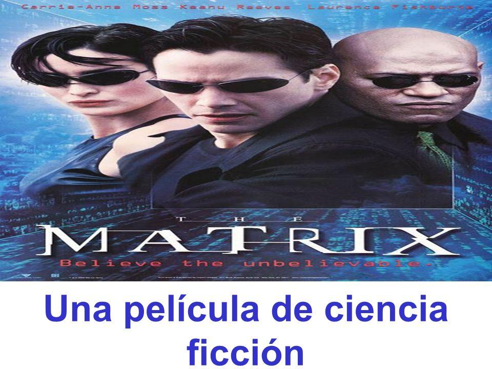 Es una película de a)Policiaca b) de ciencia ficcion c)romantica