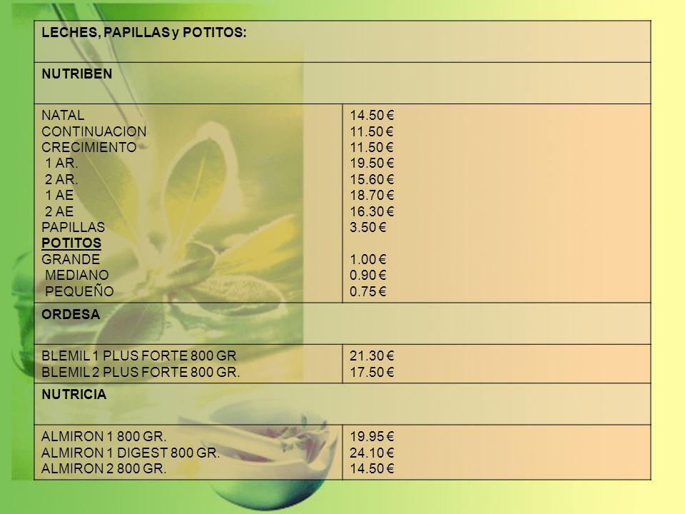 NAHORE: AGUA DE COLONIA INFANTIL 500 ml.5.70