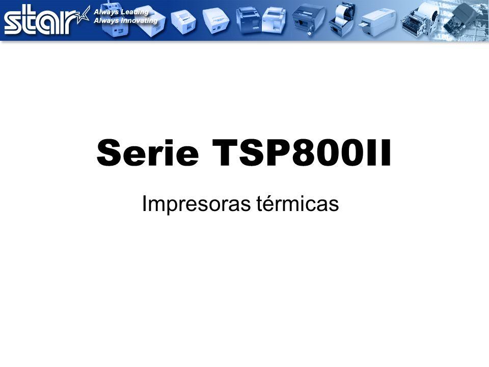 Serie TSP800II Impresoras térmicas