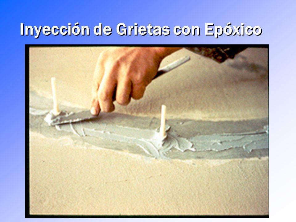 ¿Para qué se utilizan los epóxicos? Reparación de grietas – Por gravedad e inyección, perfilado y sellado, sellado de superficies Revestimientos y Aca
