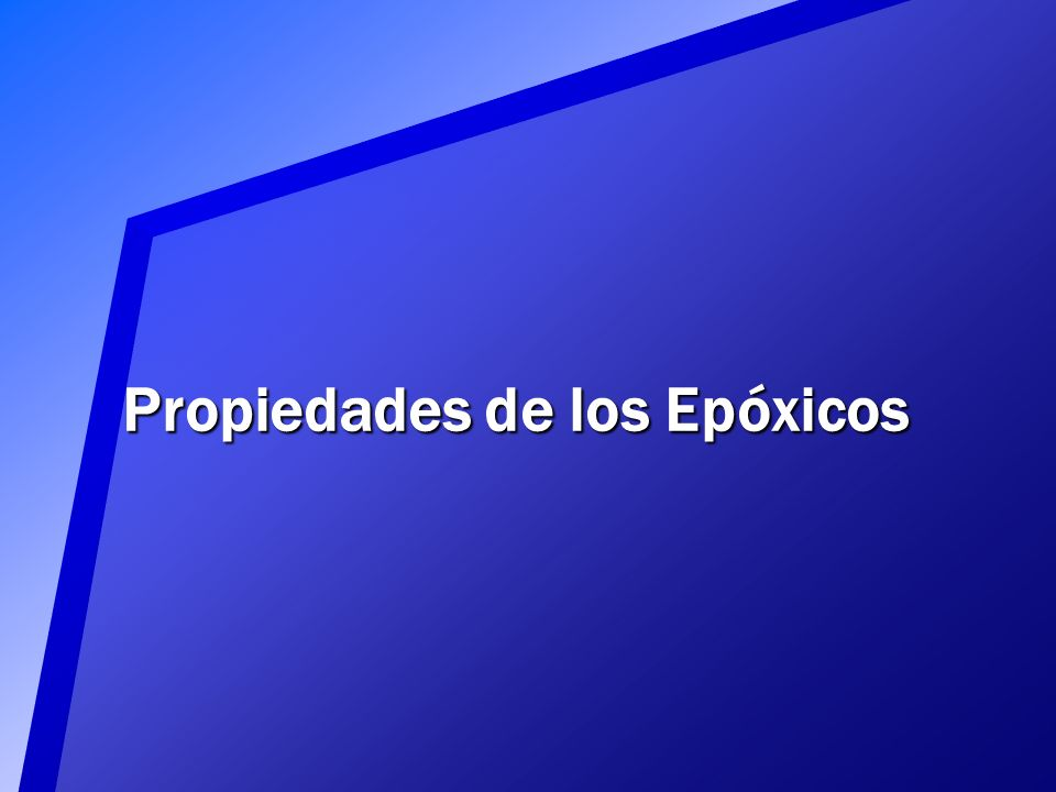 Endurecimiento de Epóxicos El endurecimiento de un epóxico es producto de una reacción química exotérmica (que produce calor) Entre más alta sea la te