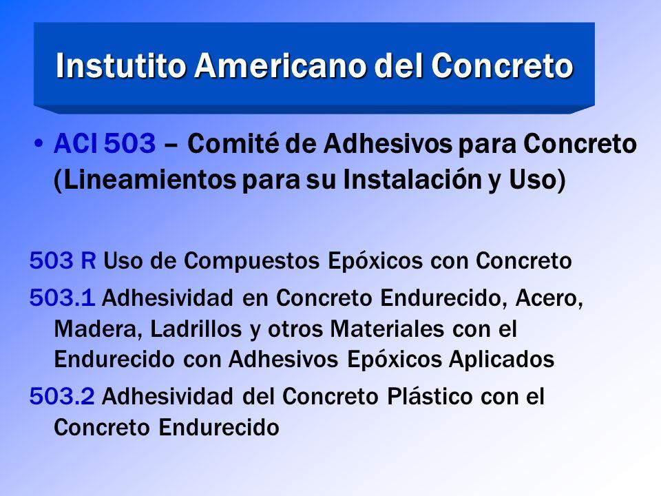 ASTM C 881 - Ejemplos Resina Epóxica para Inyección, de Baja Viscosidad Tipo IV Grado 1 Clase B o C
