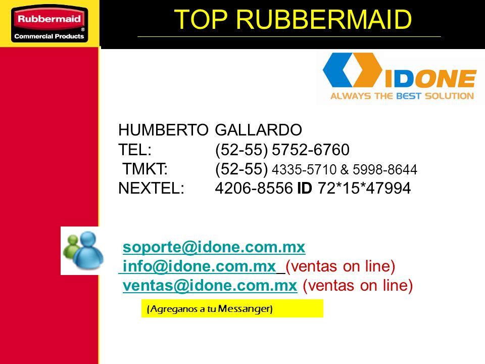 HUMBERTO GALLARDO TEL: (52-55) 5752-6760 TMKT: (52-55) 4335-5710 & 5998-8644 NEXTEL: 4206-8556 ID 72*15*47994 soporte@idone.com.mx info@idone.com.mx i