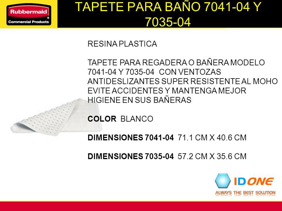 TAPETE PARA BAÑO 7041-04 Y 7035-04 RESINA PLASTICA TAPETE PARA REGADERA O BAÑERA MODELO 7041-04 Y 7035-04 CON VENTOZAS ANTIDESLIZANTES SUPER RESISTENT