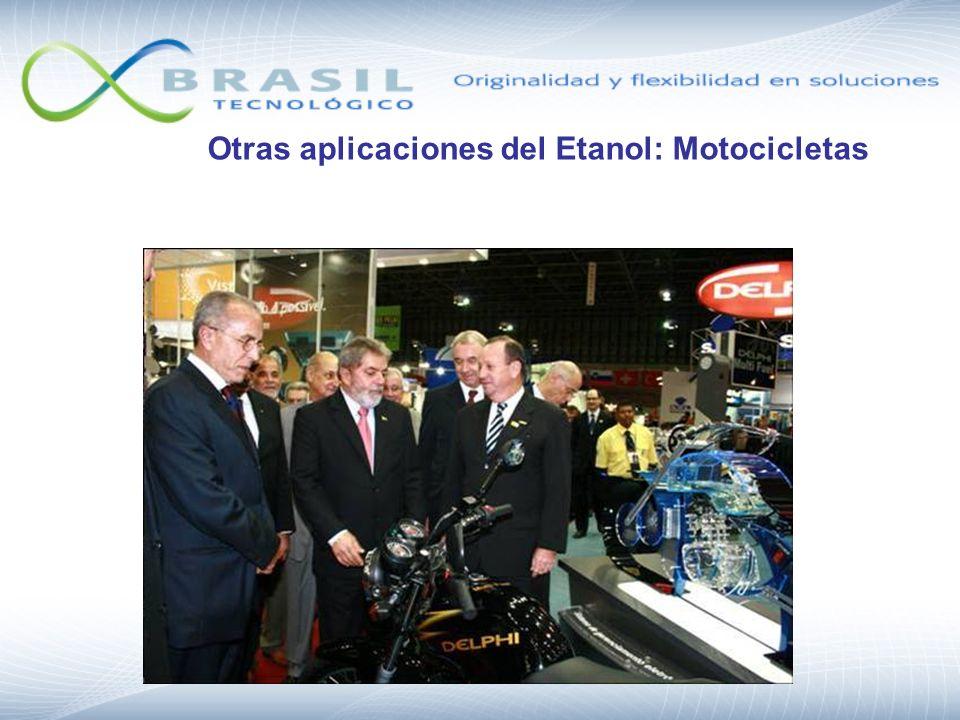 Otras aplicaciones del Etanol: Motocicletas