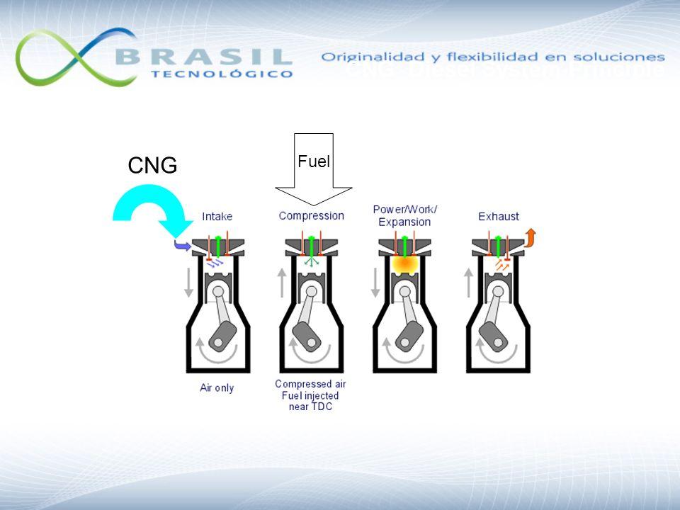 CNG Fuel CNG Diesel System Principle