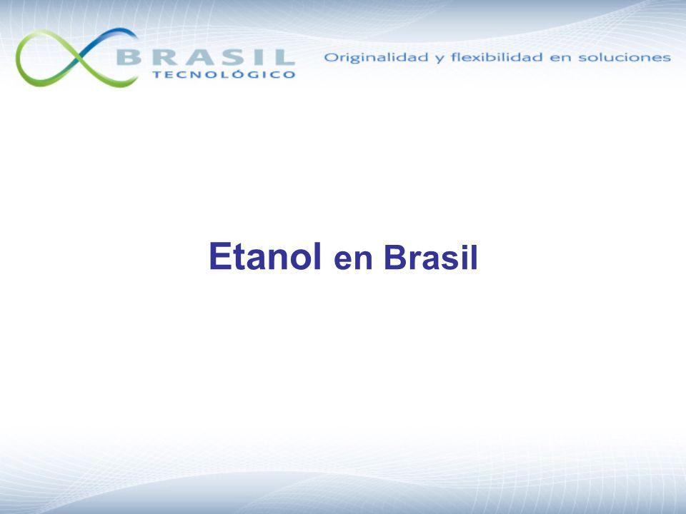 FeedstockRenewable Energy Output / Fossil Energy Input Trigo (EU)1.2 Cassava (Asia)1.2 Beterraba (EU)1.9 Mais (USA)1.3 – 1.8 Caña de Azucar (Brazil) 8.3 Source: F.O.