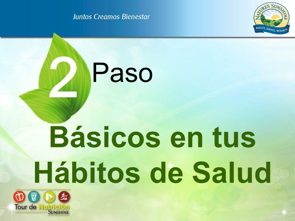 Básicos en tus Hábitos de Salud Paso 2