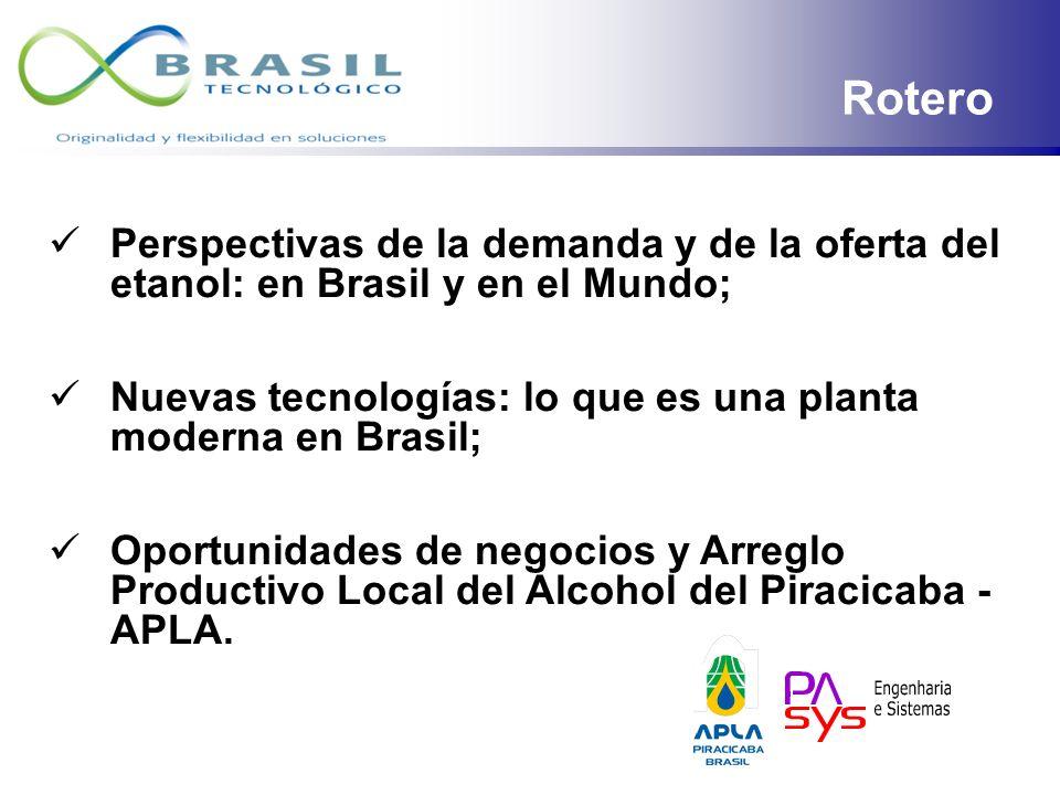ETANOL EN BRASIL: Perspectivas, Tecnologías y Oportunidades de Negocios