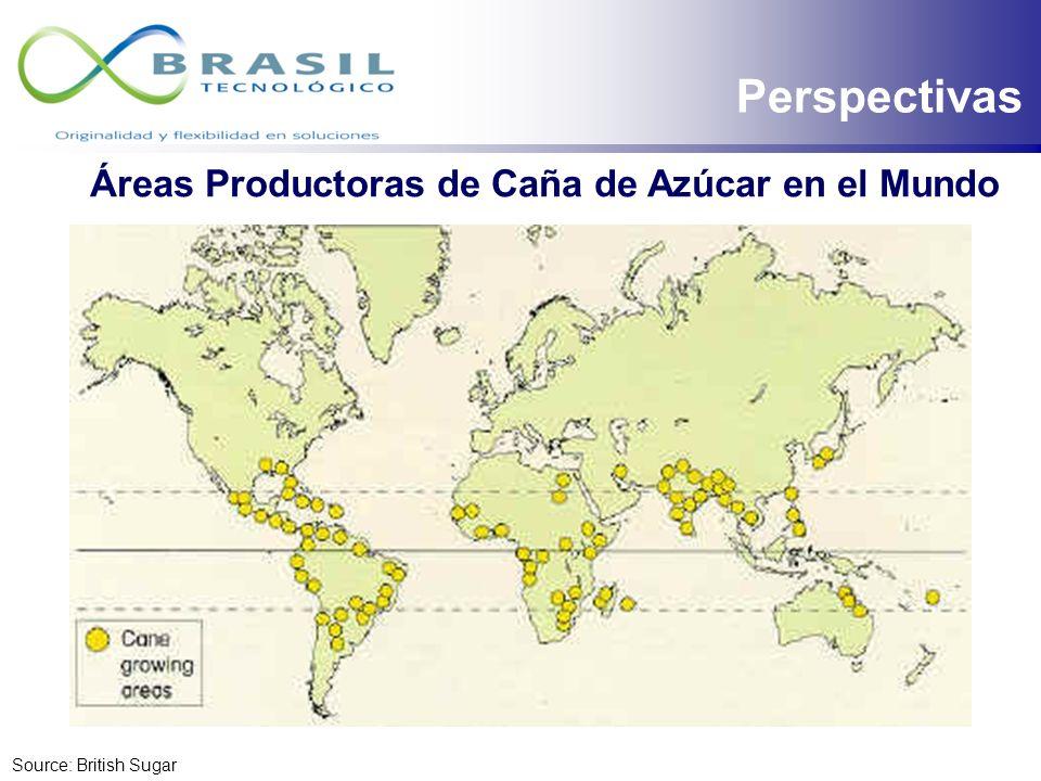 Cadena Productiva de Caña de Azúcar en Brasil 7 millones de hectáreas 72 mil agricultores Procesamiento de 460 millones de toneladas 410 ingenios y de