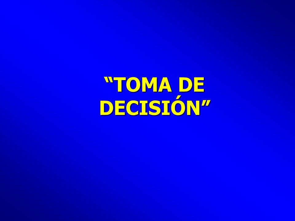 TOMA DE DECISIÓN