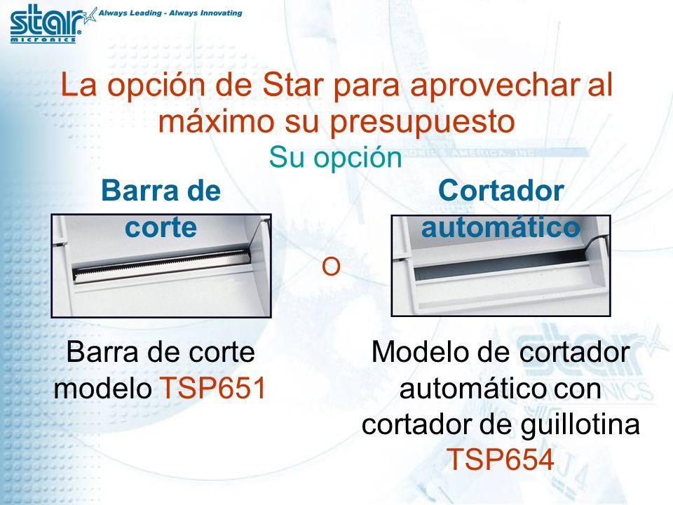 La opción de Star para aprovechar al máximo su presupuesto Su opción O Barra de corte modelo TSP651 Barra de corte Modelo de cortador automático con cortador de guillotina TSP654 Cortador automático