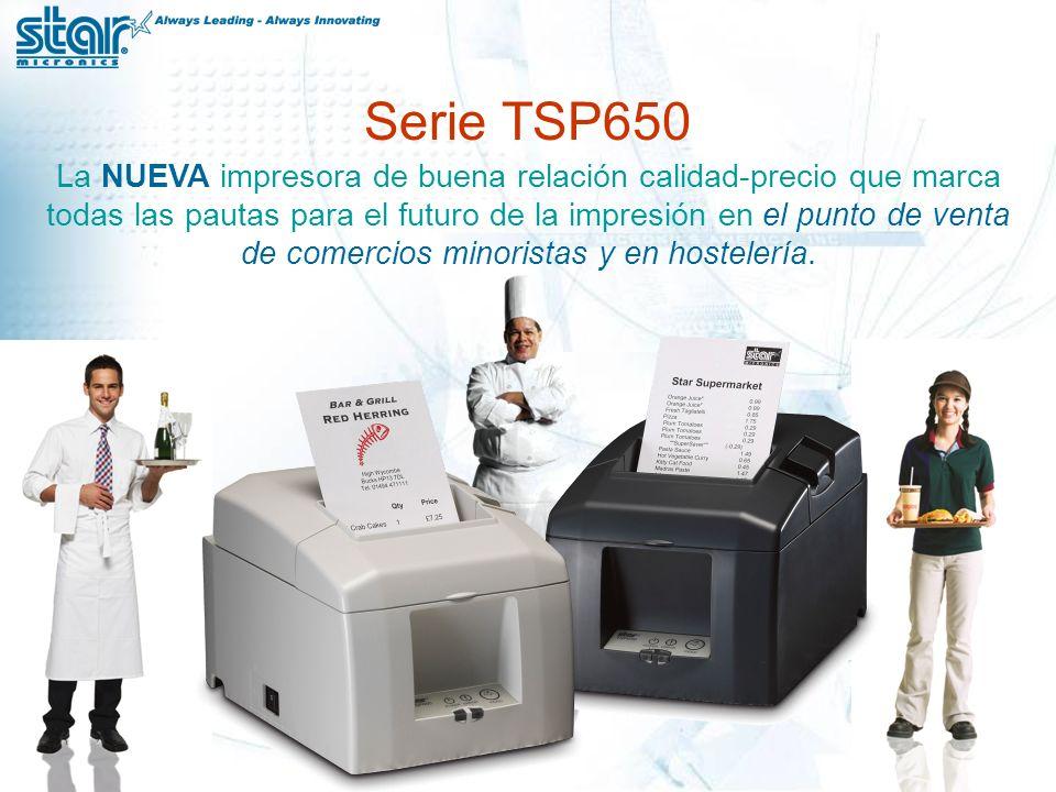 La NUEVA impresora de buena relación calidad-precio que marca todas las pautas para el futuro de la impresión en el punto de venta de comercios minoristas y en hostelería.