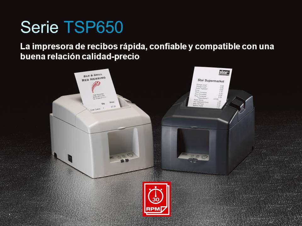 La impresora de recibos rápida, confiable y compatible con una buena relación calidad-precio