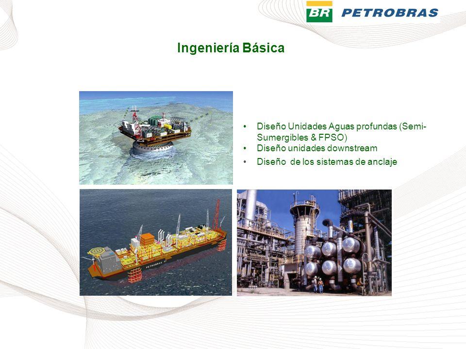 Diseño Unidades Aguas profundas (Semi- Sumergibles & FPSO)Diseño Unidades Aguas profundas (Semi- Sumergibles & FPSO) Diseño unidades downstream Diseño