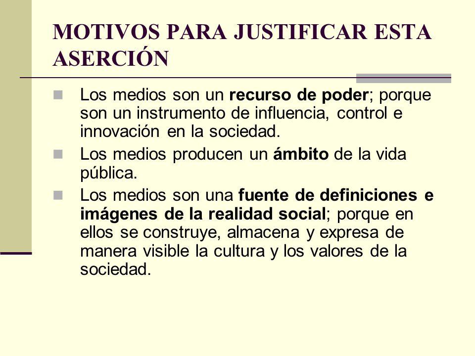 TEORÍA DE LOS MEDIA Y TEORÍA DE LA SOCIEDAD Tipología de las relaciones entre sociedad y cultura.