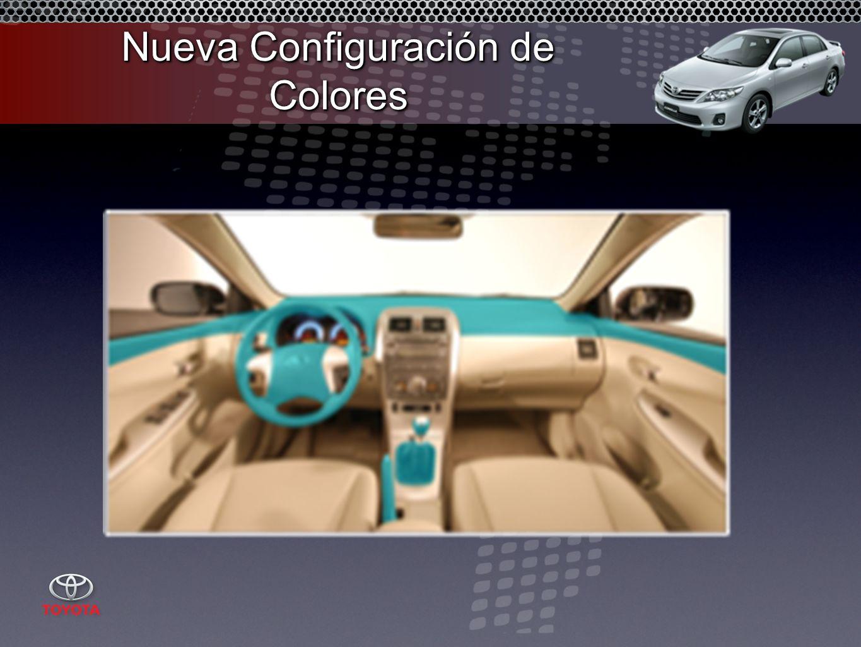 Nueva Configuración de Colores