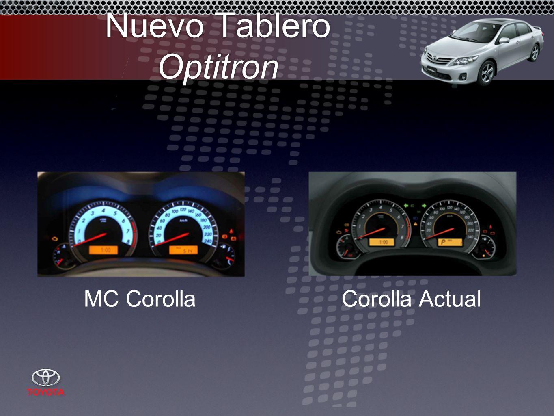 Nuevo Tablero Optitron MC CorollaCorolla Actual