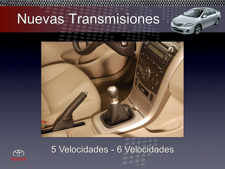 Nuevas Transmisiones 5 Velocidades - 6 Velocidades