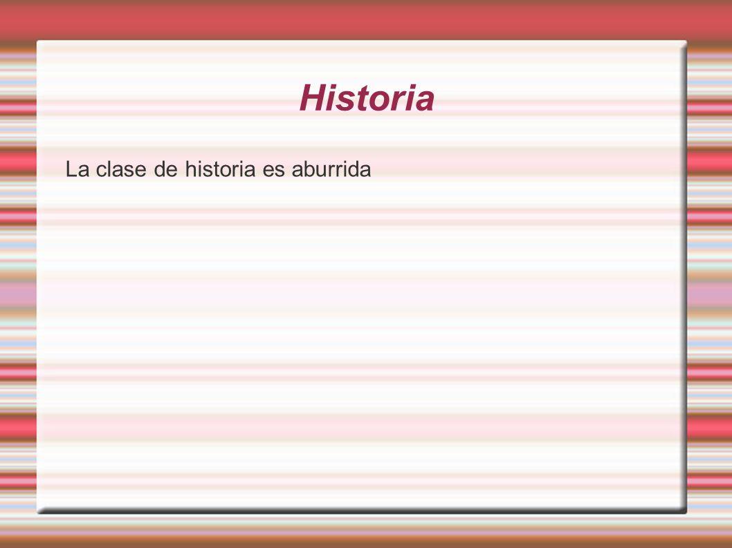 Historia Necesito un cuaderno, un libro de historia, un lápiz