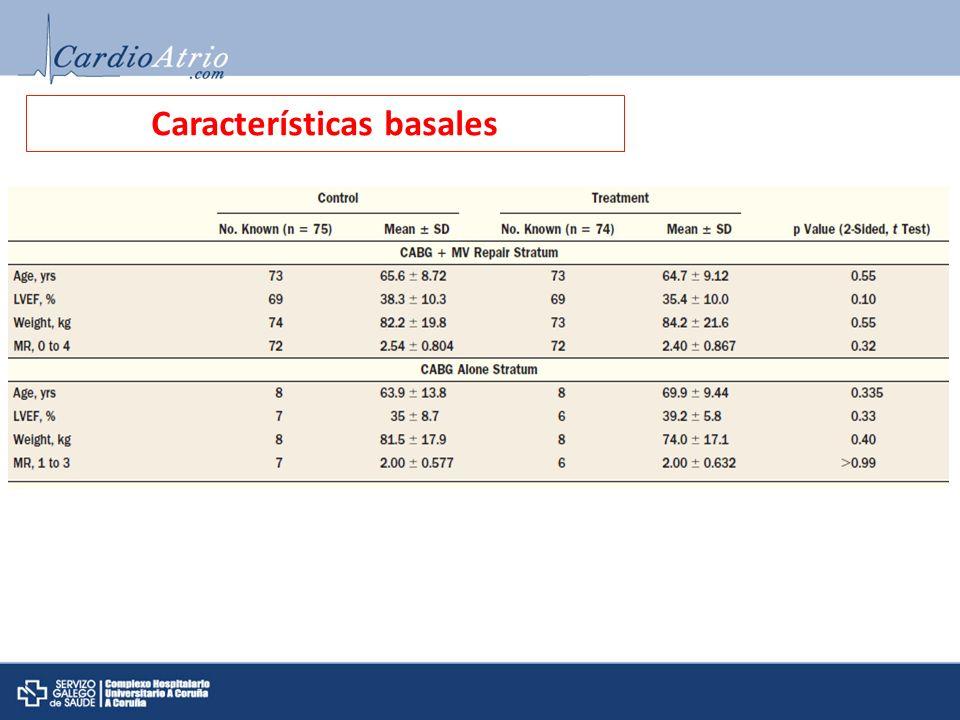 Características basales