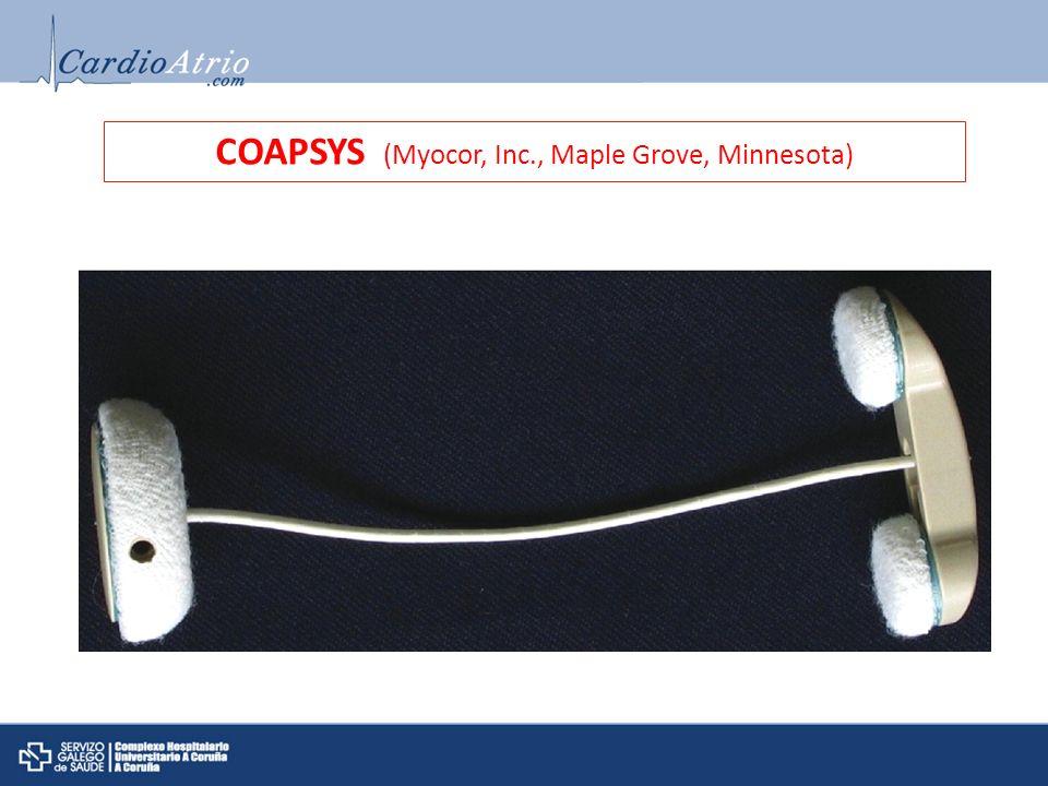 COAPSYS (Myocor, Inc., Maple Grove, Minnesota)