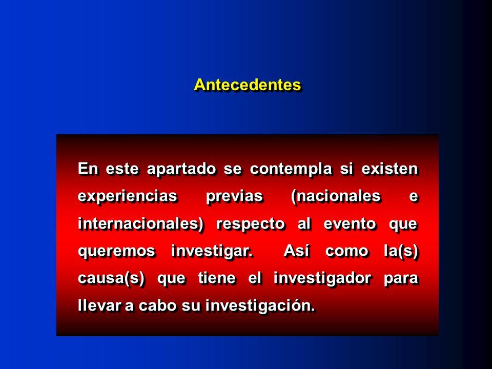 Estudios experimentales Tiene 3 características básicas: Intervención Grupo control AleatorizaciónIntervención Aleatorización