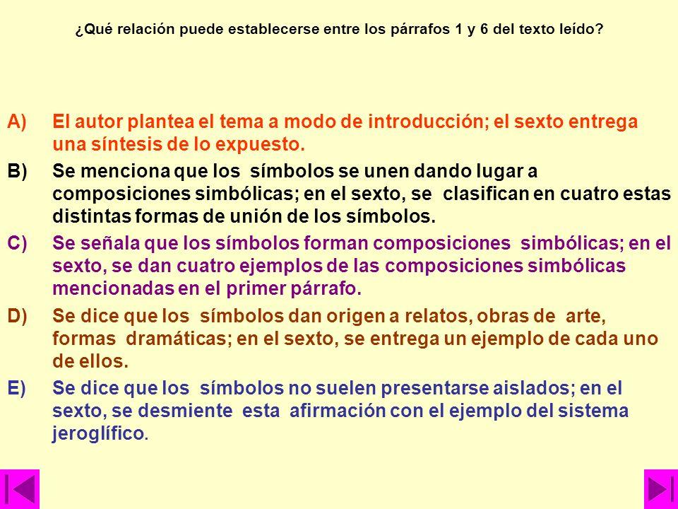 A)La importancia de descifrar los símbolos de manera correcta, basándose en su múltiple procedencia. B)El simbolismo y sus interpretaciones a través d