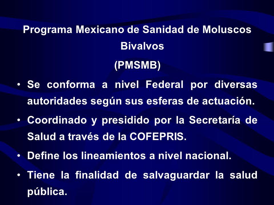 (PMSMB) Se conforma a nivel Federal por diversas autoridades según sus esferas de actuación. Coordinado y presidido por la Secretaría de Salud a travé