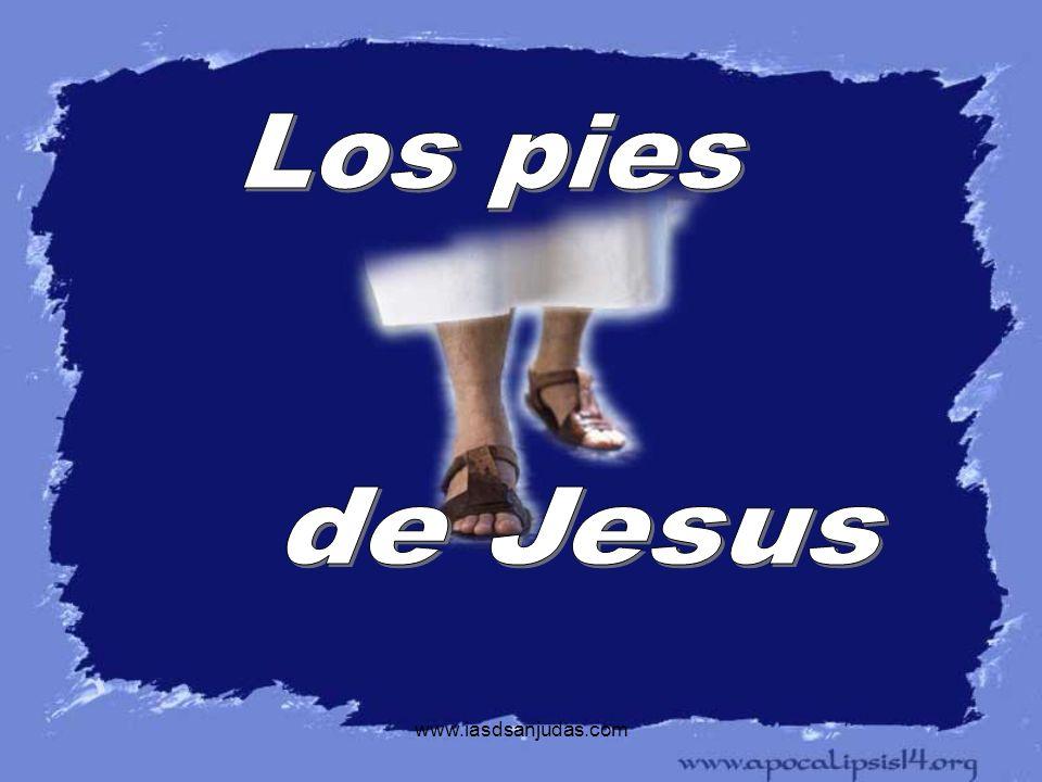 www.iasdsanjudas.com En su ultima jornada Jesus sabia exactamente lo que le esperaba: su lucha en el Getsemani, el arresto, el injusto juicio, la huida de sus propios discipulos, la burla y la tortura, el camino hacia el Golgota, la cruz y la burla de la gente, pero sus pies fueron sin vacilar.